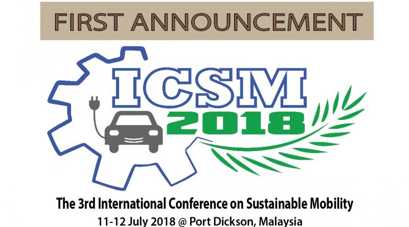 ICSM First Announcement