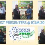 ICSM News - Best Presenters