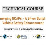 Tech Course - NCAP Aug 2019