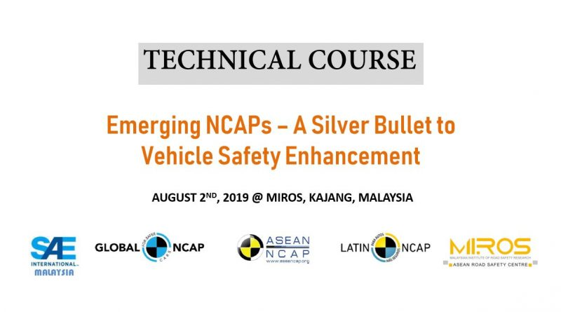 Tech Course - NCAP Aug 2019